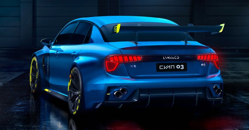 Lynk & Co 03 Cyan – 500 hp WTCR road car concept Image #875928