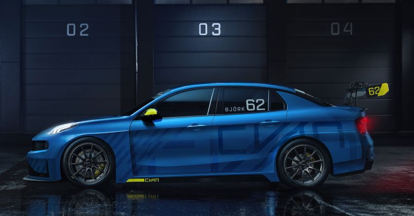 Lynk & Co 03 Cyan – 500 hp WTCR road car concept Image #875929