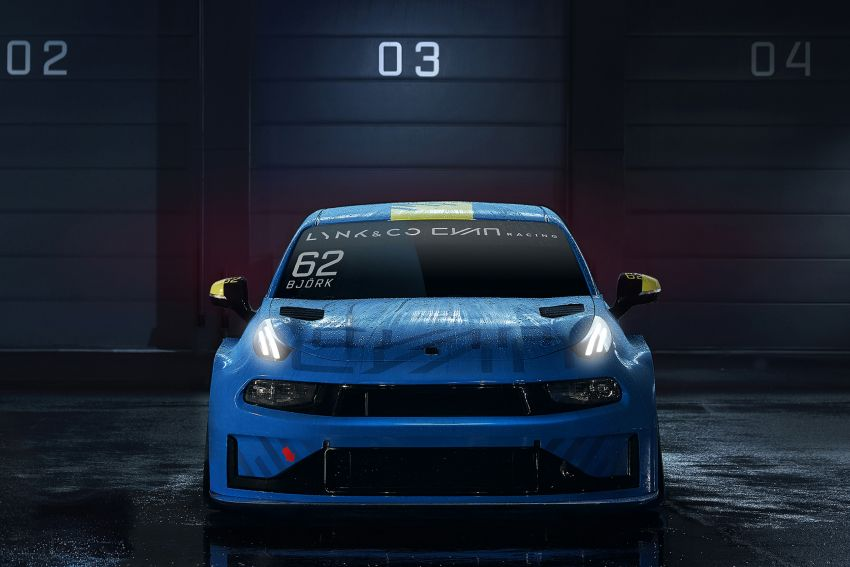 Lynk & Co 03 Cyan – 500 hp WTCR road car concept Image #875931