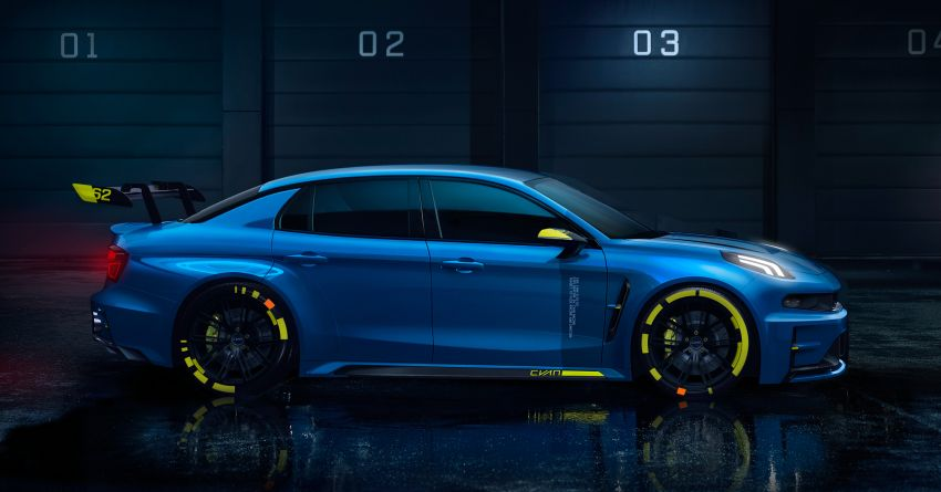 Lynk & Co 03 Cyan – 500 hp WTCR road car concept Image #875932