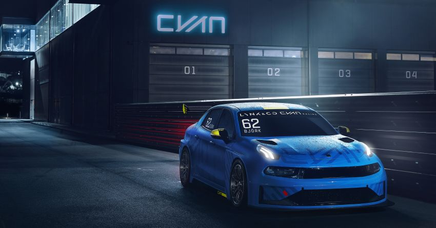 Lynk & Co 03 Cyan – 500 hp WTCR road car concept Image #875934