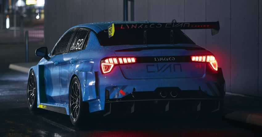 Lynk & Co 03 Cyan – 500 hp WTCR road car concept Image #875935