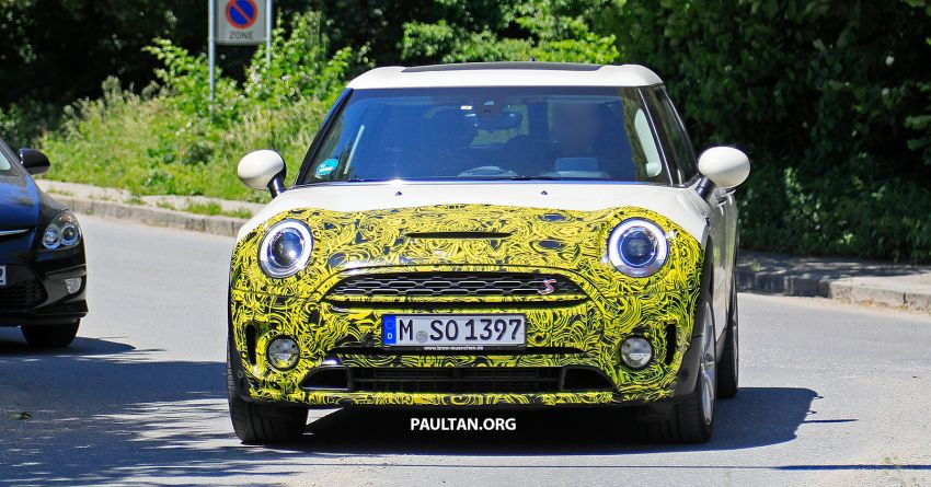 SPIED: F54 MINI JCW Clubman LCI – new tail lights! Image #872970