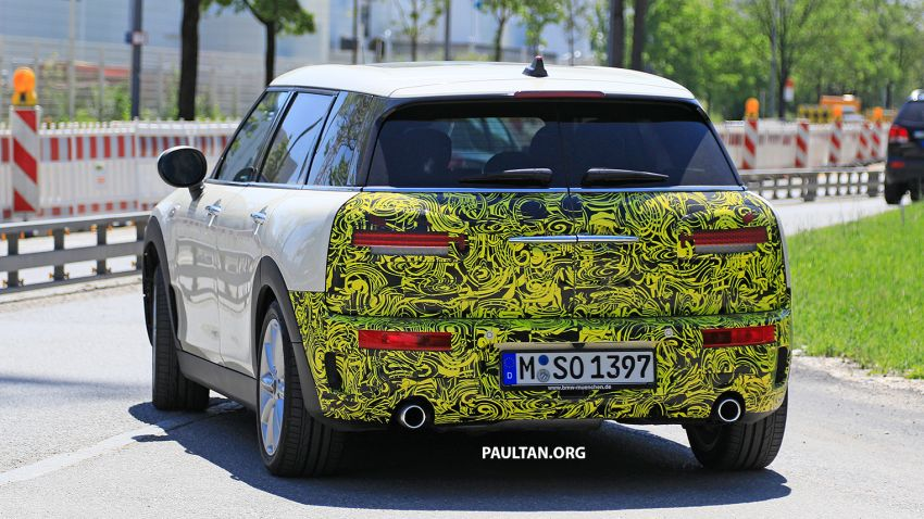 SPIED: F54 MINI JCW Clubman LCI – new tail lights! Image #872979