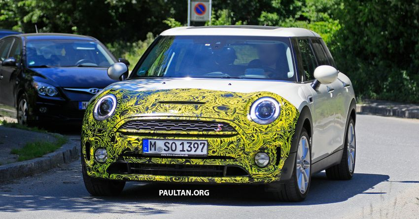 SPIED: F54 MINI JCW Clubman LCI – new tail lights! Image #872971