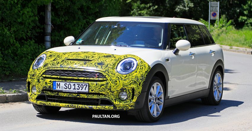 SPIED: F54 MINI JCW Clubman LCI – new tail lights! Image #872972