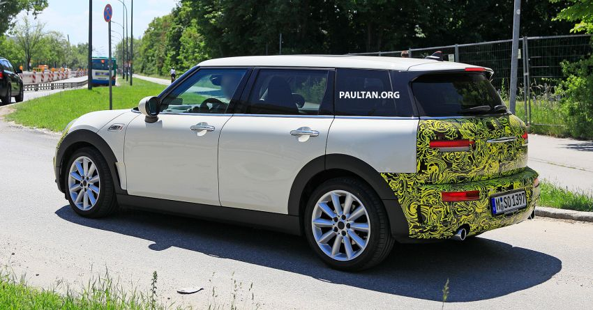 SPIED: F54 MINI JCW Clubman LCI – new tail lights! Image #872975