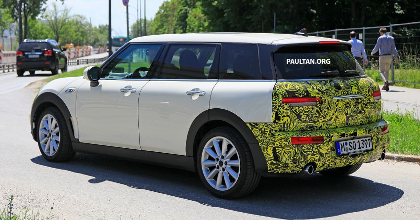SPIED: F54 MINI JCW Clubman LCI – new tail lights! Image #872976