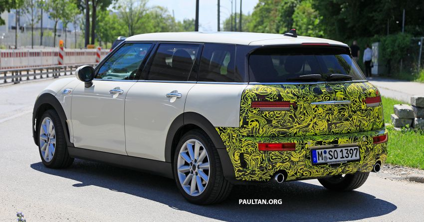 SPIED: F54 MINI JCW Clubman LCI – new tail lights! Image #872977