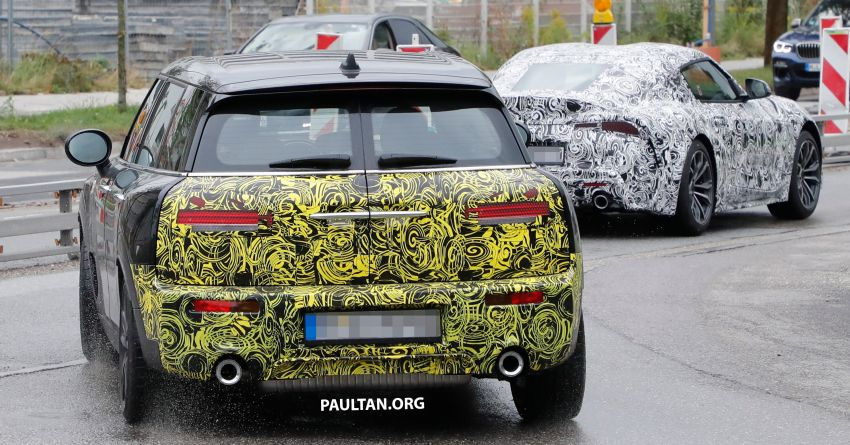 SPIED: F54 MINI JCW Clubman LCI – new tail lights! Image #872769