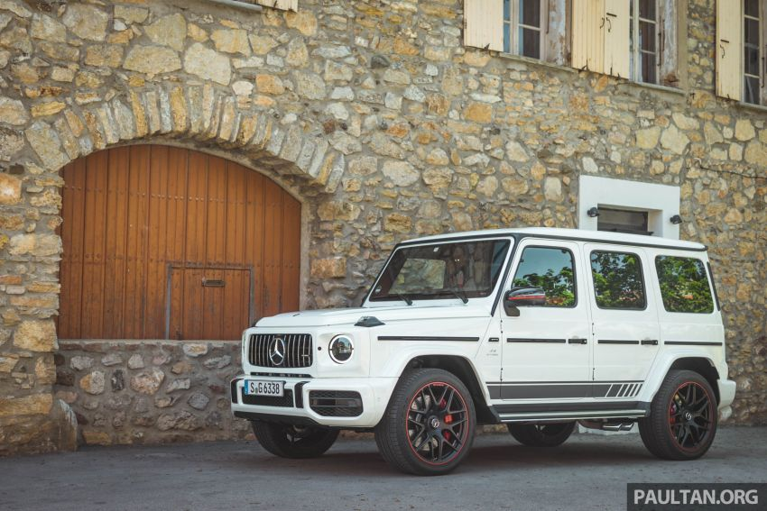 FIRST DRIVE: 2019 Mercedes-AMG G63 with 585 hp V8 Image #873294