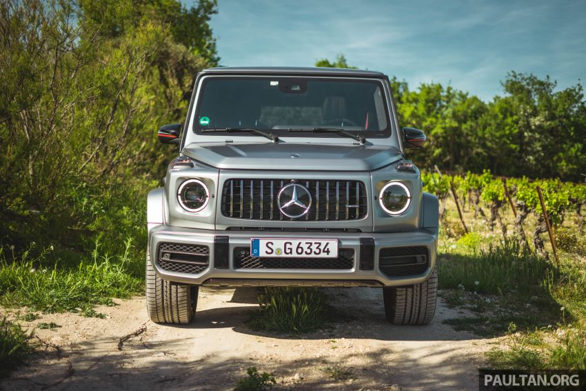 FIRST DRIVE: 2019 Mercedes-AMG G63 with 585 hp V8 Image #873304
