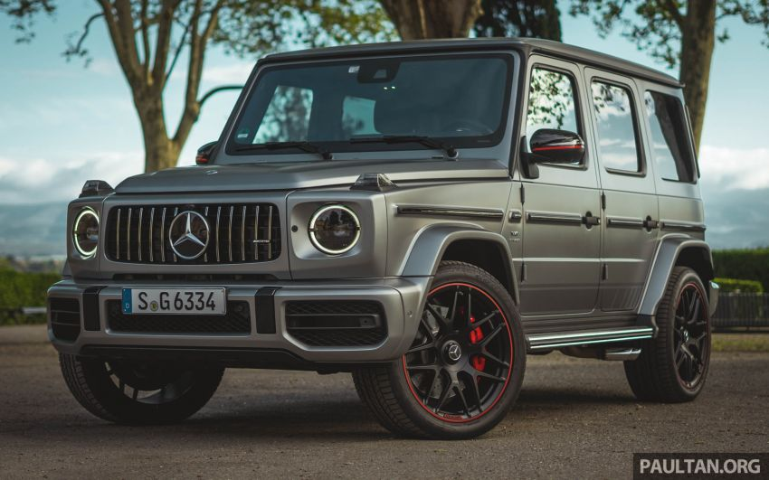 FIRST DRIVE: 2019 Mercedes-AMG G63 with 585 hp V8 Image #873305