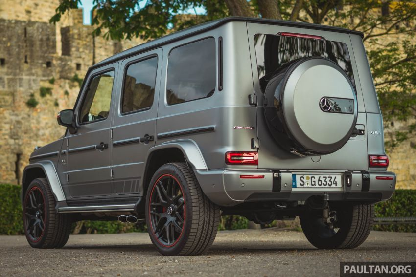 FIRST DRIVE: 2019 Mercedes-AMG G63 with 585 hp V8 Image #873306