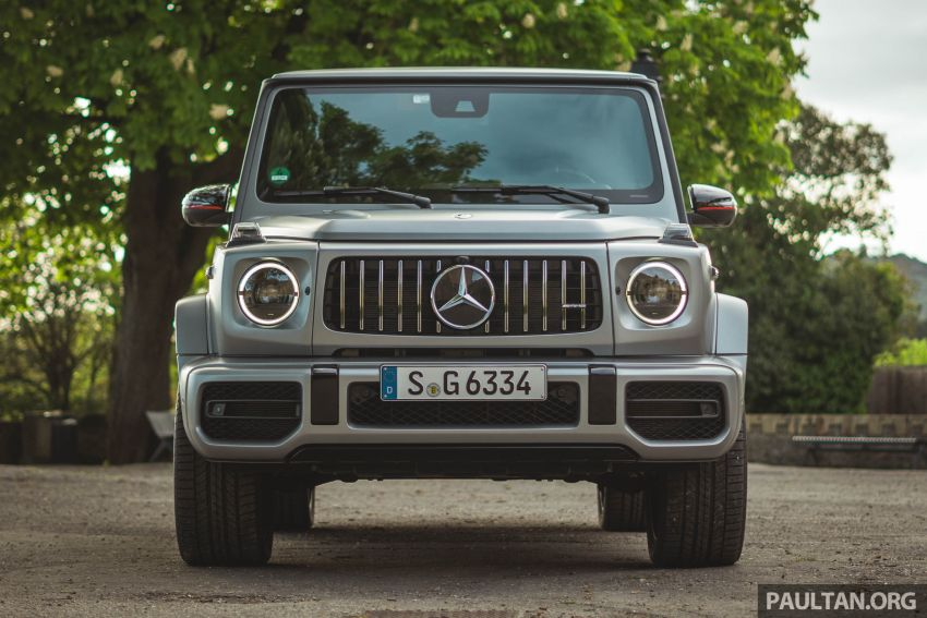 FIRST DRIVE: 2019 Mercedes-AMG G63 with 585 hp V8 Image #873307