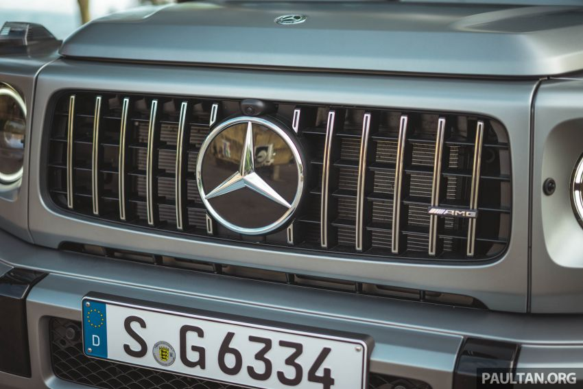 FIRST DRIVE: 2019 Mercedes-AMG G63 with 585 hp V8 Image #873312