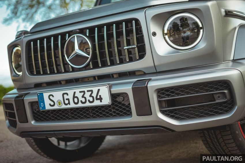 FIRST DRIVE: 2019 Mercedes-AMG G63 with 585 hp V8 Image #873313