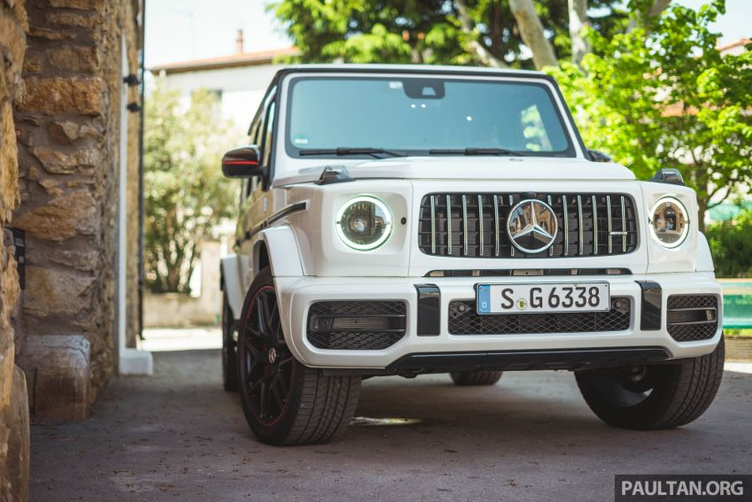 FIRST DRIVE: 2019 Mercedes-AMG G63 with 585 hp V8 Image #873295
