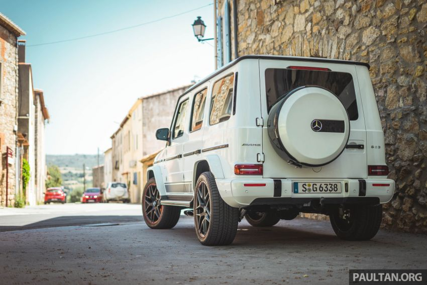 FIRST DRIVE: 2019 Mercedes-AMG G63 with 585 hp V8 Image #873296
