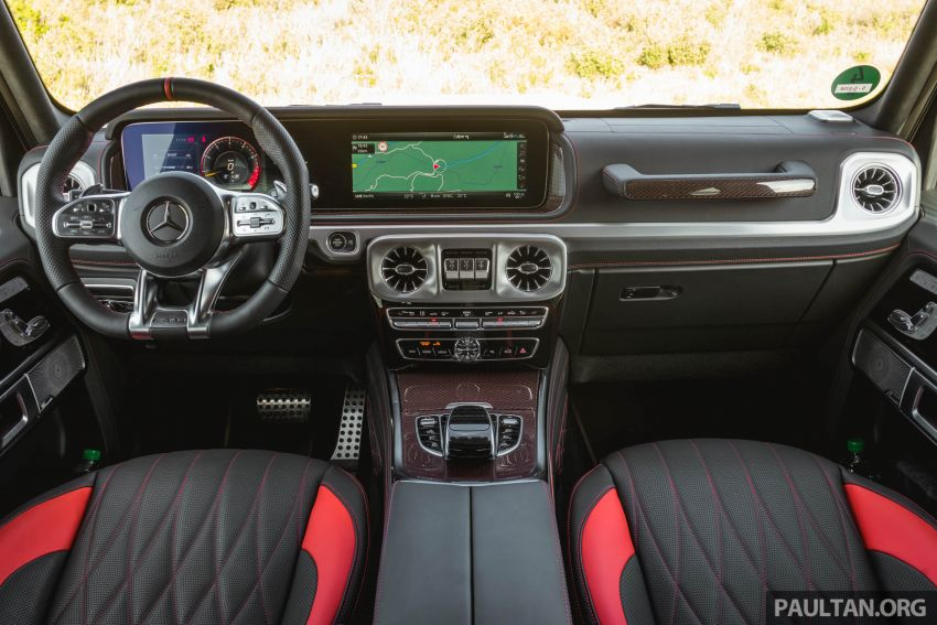 FIRST DRIVE: 2019 Mercedes-AMG G63 with 585 hp V8 Image #873327