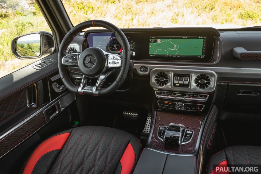 FIRST DRIVE: 2019 Mercedes-AMG G63 with 585 hp V8 Image #873329
