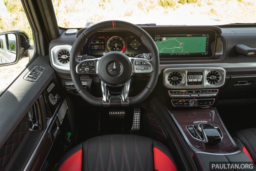 FIRST DRIVE: 2019 Mercedes-AMG G63 with 585 hp V8 Image #873330
