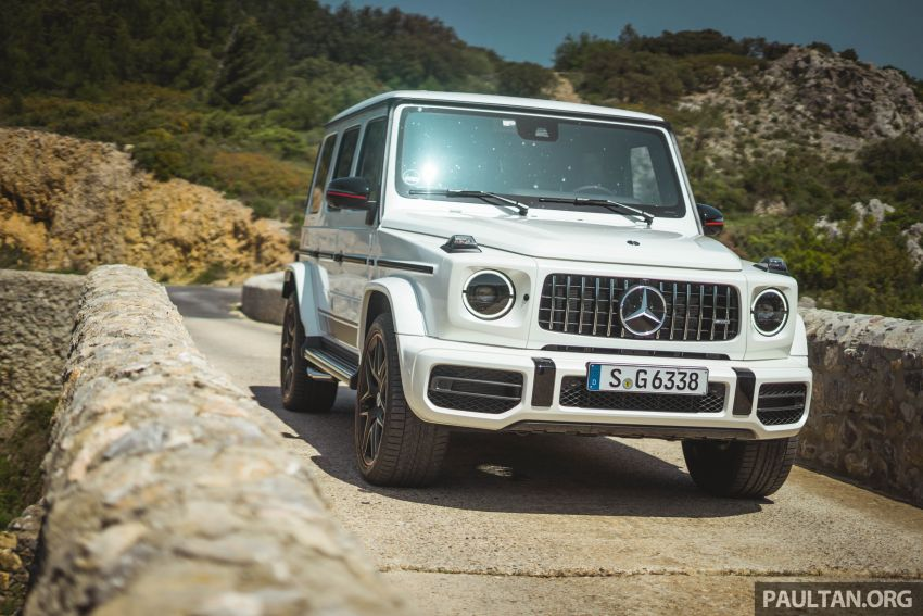 FIRST DRIVE: 2019 Mercedes-AMG G63 with 585 hp V8 Image #873297