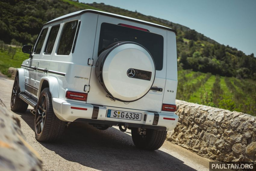 FIRST DRIVE: 2019 Mercedes-AMG G63 with 585 hp V8 Image #873298