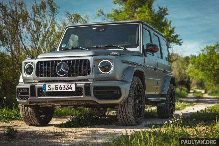 FIRST DRIVE: 2019 Mercedes-AMG G63 with 585 hp V8 Image #873299