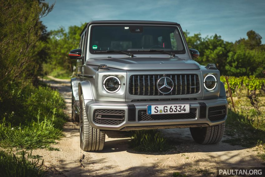 FIRST DRIVE: 2019 Mercedes-AMG G63 with 585 hp V8 Image #873300