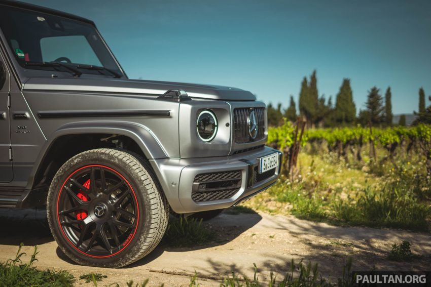 FIRST DRIVE: 2019 Mercedes-AMG G63 with 585 hp V8 Image #873302