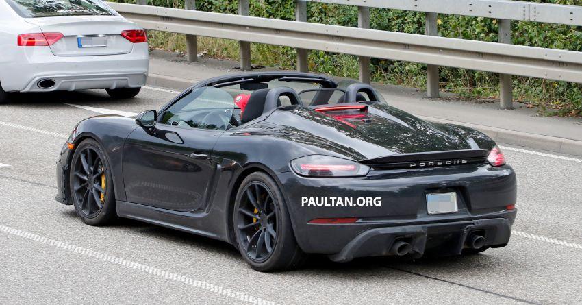 SPYSHOT: Porsche 718 Boxster Spyder 2019 dikesan Image #866367
