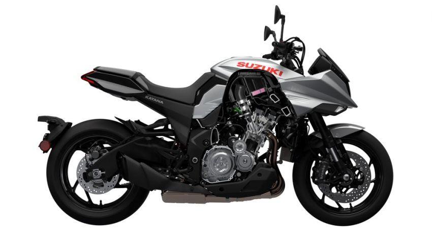 Suzuki Katana generasi baru akhirnya didedahkan Image #868460