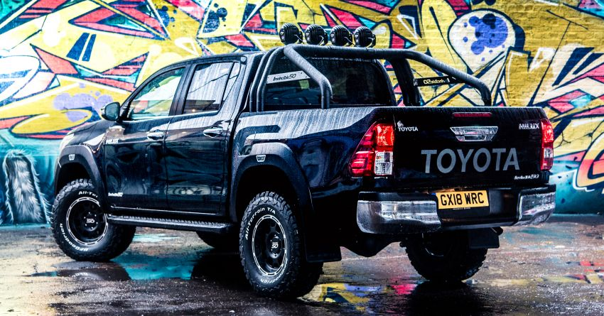 Toyota Hilux Invincible 50 – UK-only special edition Image #876125