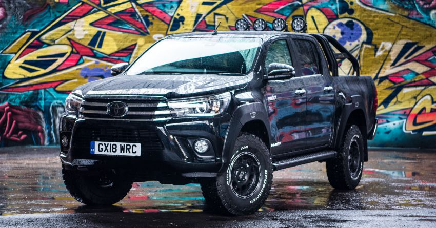 Toyota Hilux Invincible 50 – UK-only special edition Image #876126