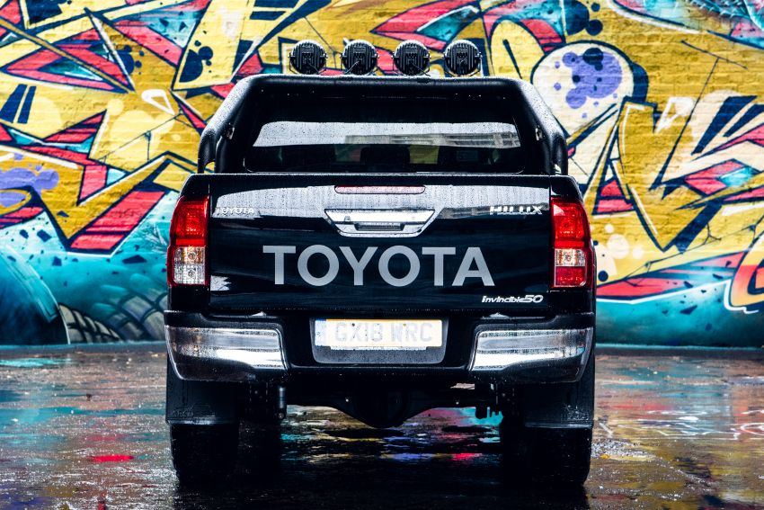 Toyota Hilux Invincible 50 – UK-only special edition Image #876130