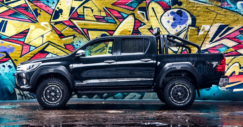 Toyota Hilux Invincible 50 – rai ulangtahun ke-50 tahun Hilux, dibina hanya 50 unit, untuk pasaran UK sahaja Image #876787