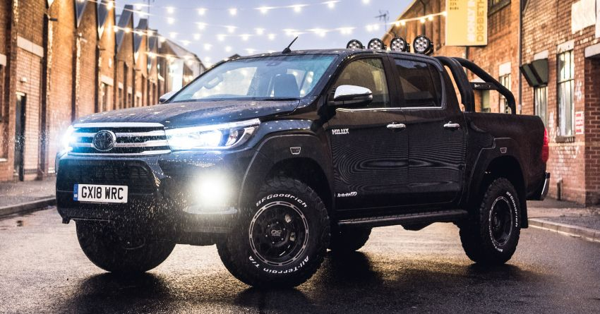 Toyota Hilux Invincible 50 – UK-only special edition Image #876133