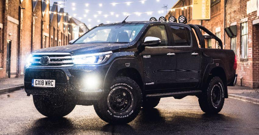 Toyota Hilux Invincible 50 – rai ulangtahun ke-50 tahun Hilux, dibina hanya 50 unit, untuk pasaran UK sahaja Image #876790