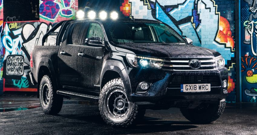 Toyota Hilux Invincible 50 – UK-only special edition Image #876140