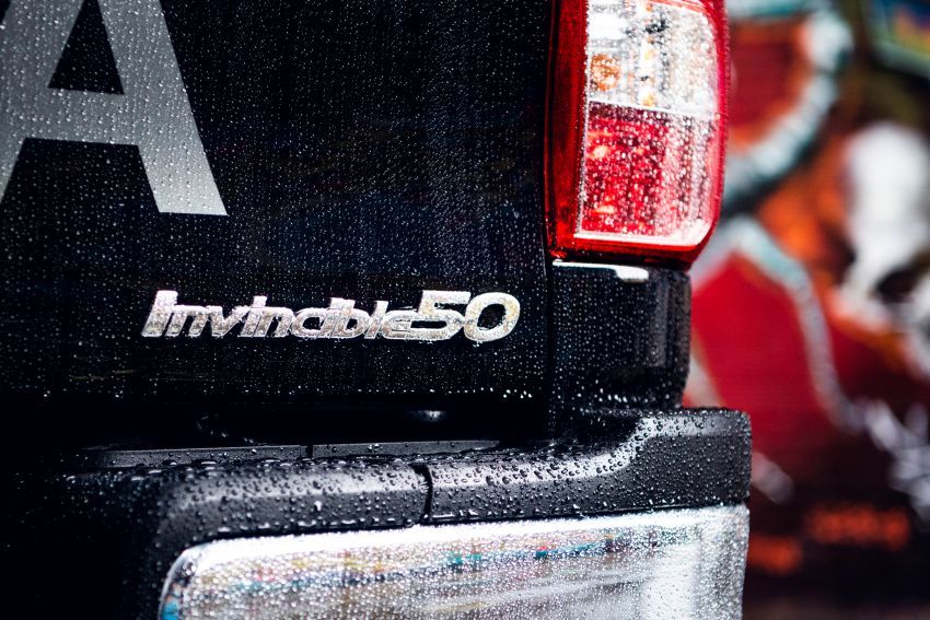 Toyota Hilux Invincible 50 – UK-only special edition Image #876157