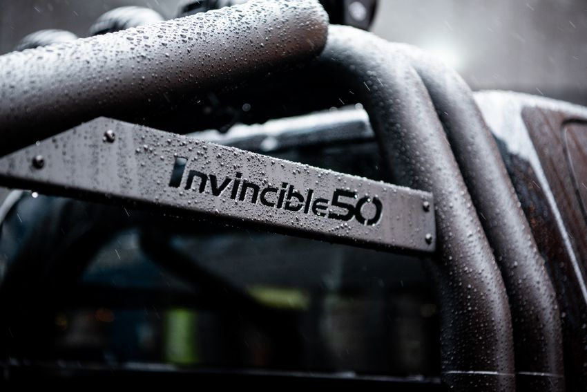 Toyota Hilux Invincible 50 – UK-only special edition Image #876158