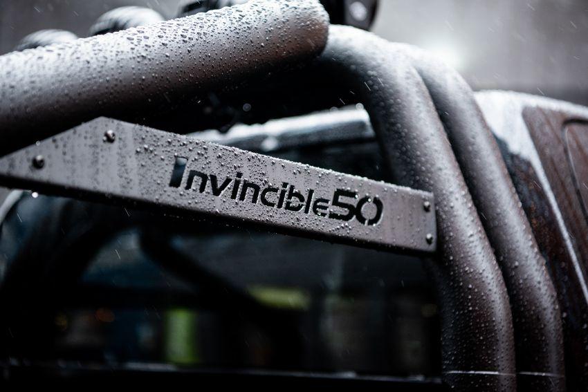 Toyota Hilux Invincible 50 – rai ulangtahun ke-50 tahun Hilux, dibina hanya 50 unit, untuk pasaran UK sahaja Image #876829