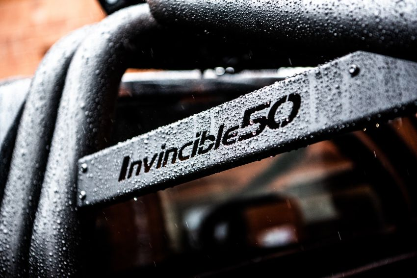 Toyota Hilux Invincible 50 – UK-only special edition Image #876159