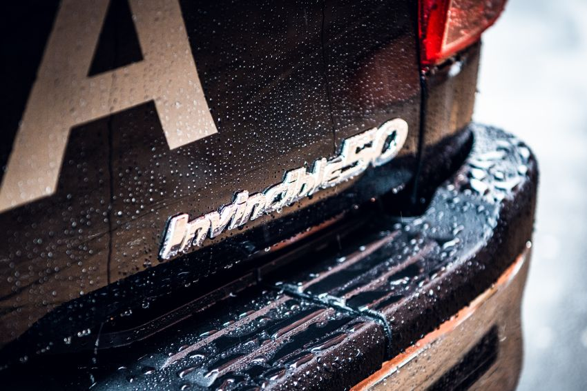 Toyota Hilux Invincible 50 – UK-only special edition Image #876160