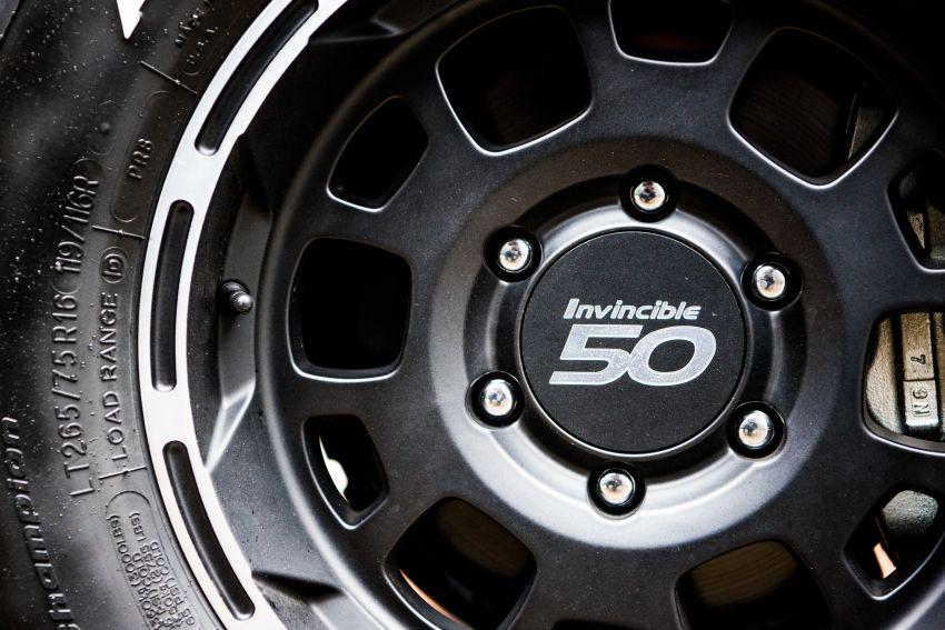 Toyota Hilux Invincible 50 – rai ulangtahun ke-50 tahun Hilux, dibina hanya 50 unit, untuk pasaran UK sahaja Image #876840