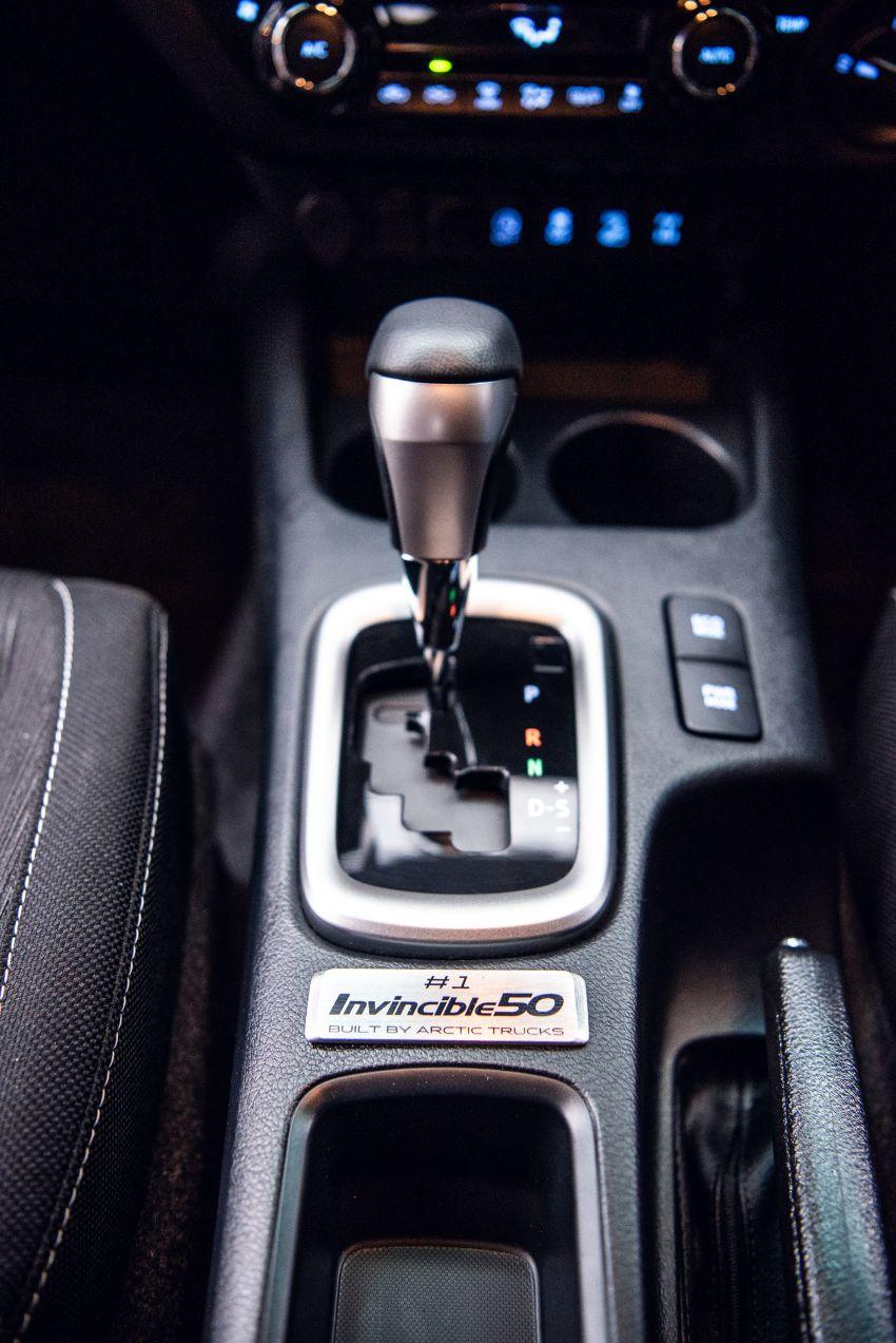Toyota Hilux Invincible 50 – rai ulangtahun ke-50 tahun Hilux, dibina hanya 50 unit, untuk pasaran UK sahaja Image #876760