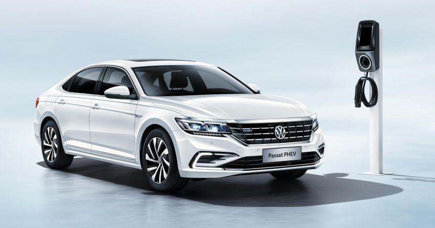 Volkswagen Passat NMS 2019 diperkenalkan di pasaran China – lebih besar, gaya seperti Arteon Image #873934