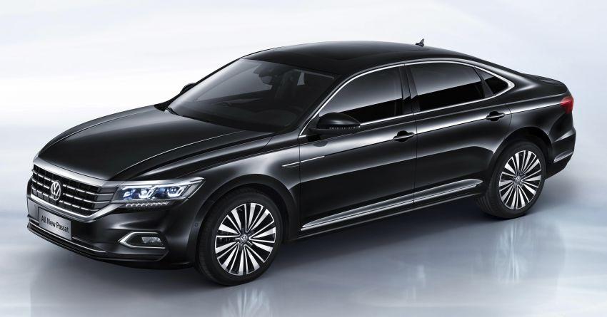 Volkswagen Passat NMS 2019 diperkenalkan di pasaran China – lebih besar, gaya seperti Arteon Image #873954