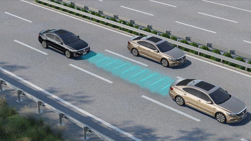 2019 Volkswagen Passat NMS debuts for China market Image #873851